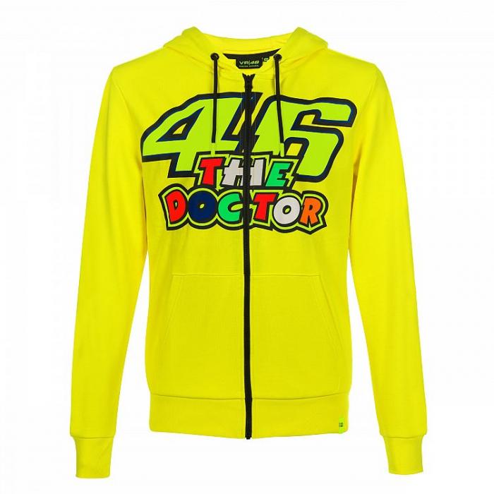 Bluza VR46 Valentino Rossi THE DOCTOR Fleece żółta