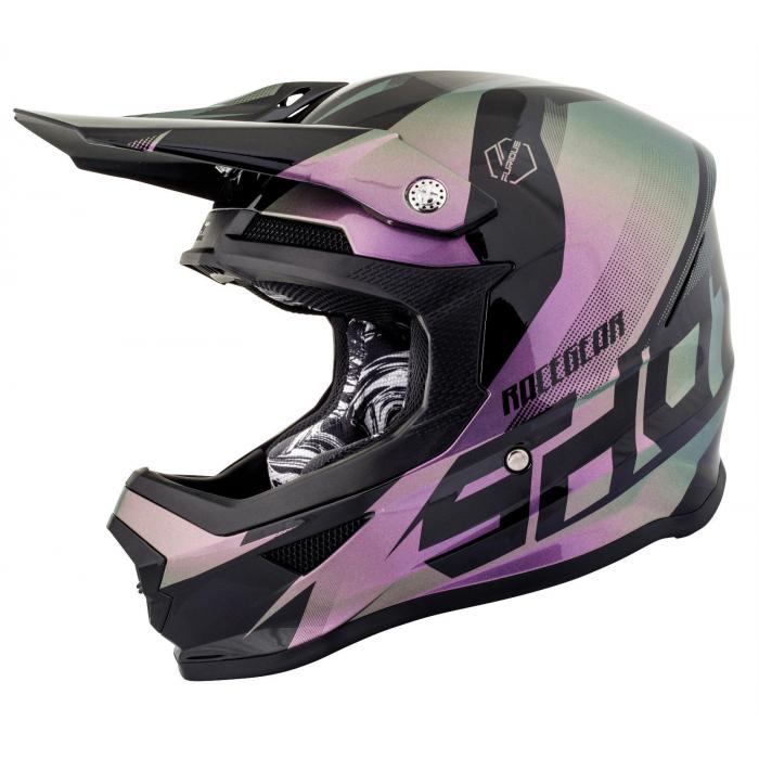 Motocrossowy kask Shot Ultimate Chameleon wyprzedaż