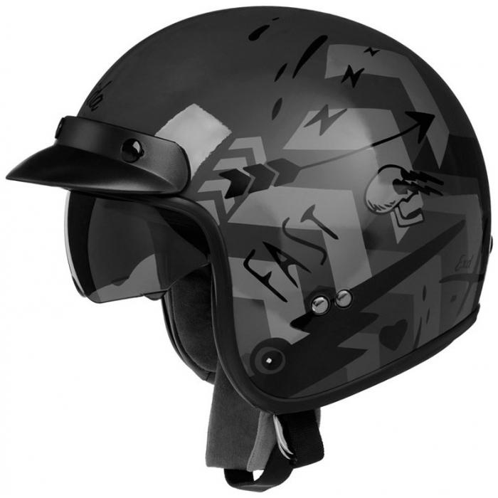 Otwarty kask motocyklowy Cassida Oxygen Badass