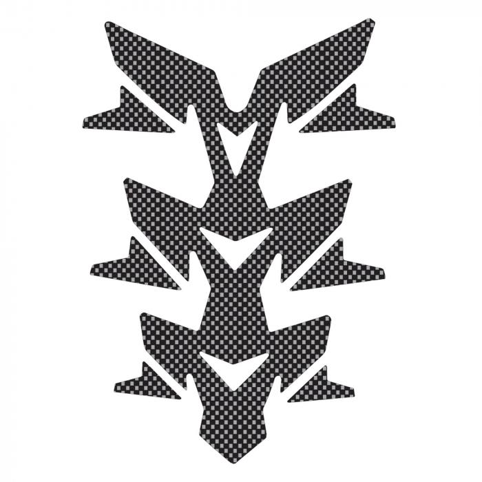 Naklejka na zbiornik Oxford Gel Spine Invader carbon