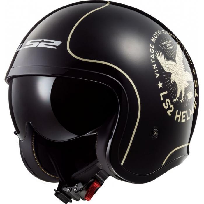 Otwarty kask motocyklowy LS2 OF599 Spitfire Flier