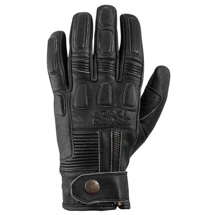 Rękawice motocyklowe iXS Kelvin czarne wyprzedaż