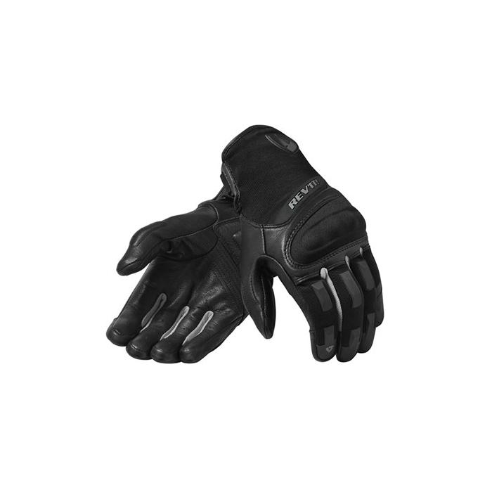 Rękawice motocyklowe Revit Striker 3 srebrno-czarne wyprzedaż