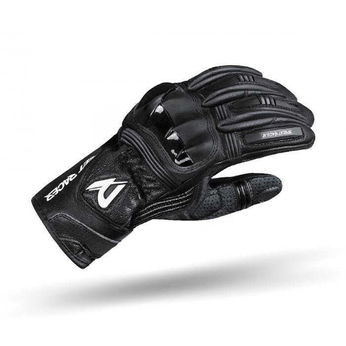 Rękawice motocyklowe Street Racer GPR czarne
