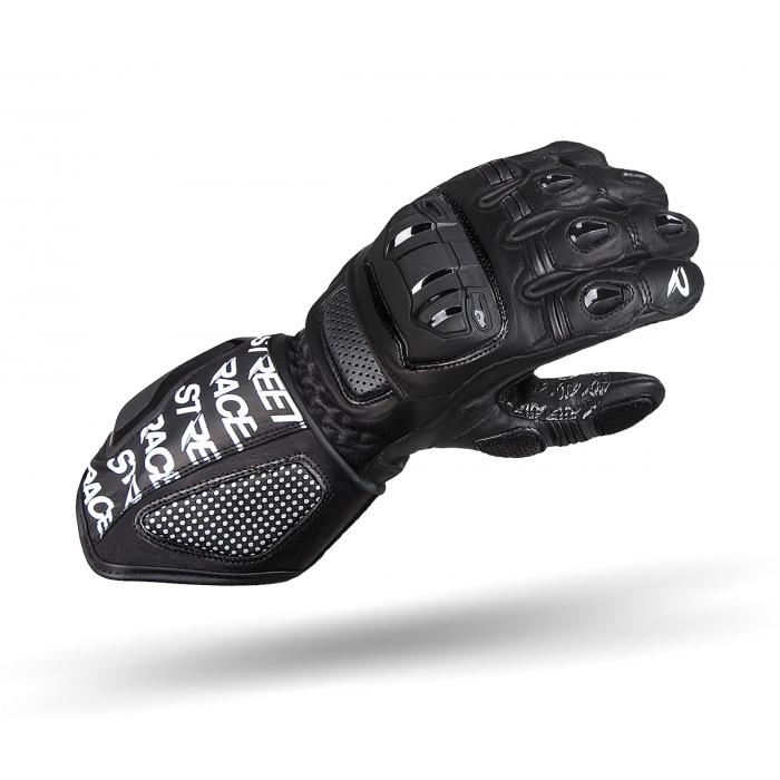 Rękawice motocyklowe Street Racer WRS czarne