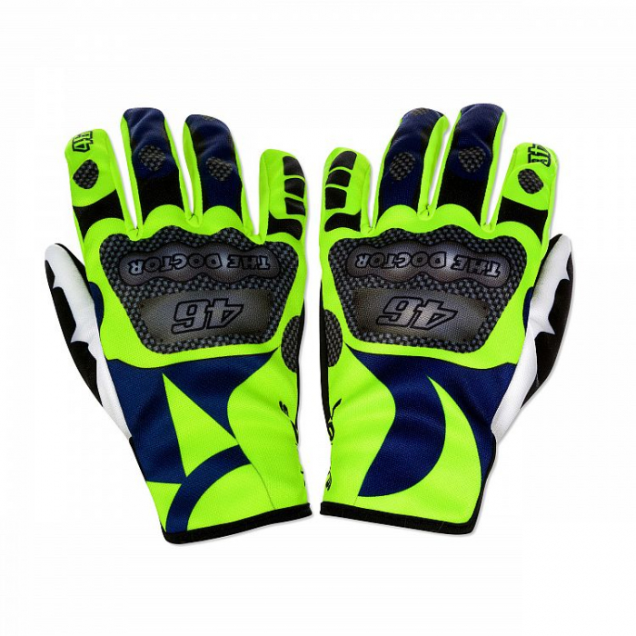Rękawice motocyklowe VR46 Valentino Rossi SUN AND MOON