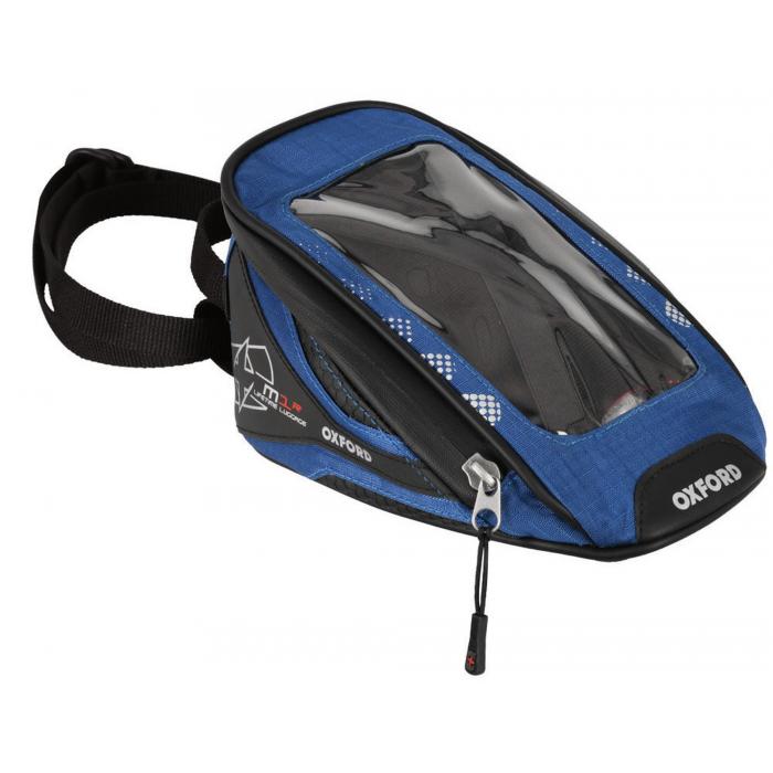 Tankbag na motocykl Oxford M1R Micro czarno-niebieski