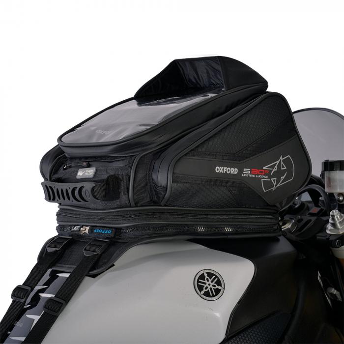 Tankbag na motocykl Oxford S30R czarny