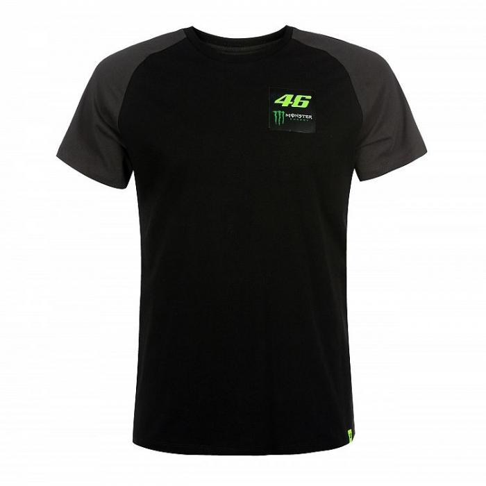 Koszulka VR46 Valentino Rossi 46 MONSTER czarna