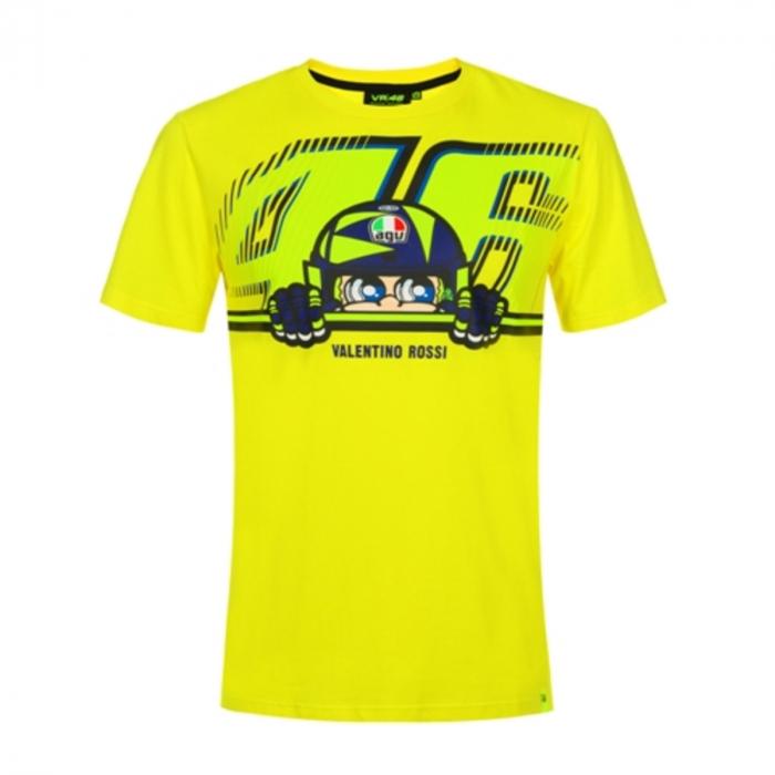 Koszulka VR46 Valentino Rossi CUPOLINO żółta