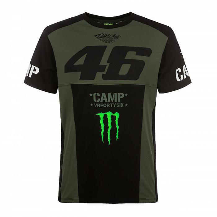 Koszulka VR46 Valentino Rossi MONSTER CAMP