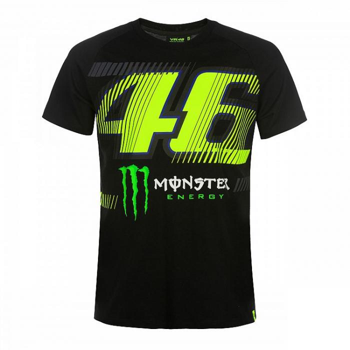 Koszulka VR46 Valentino Rossi MONZA 46 MONSTER czarna