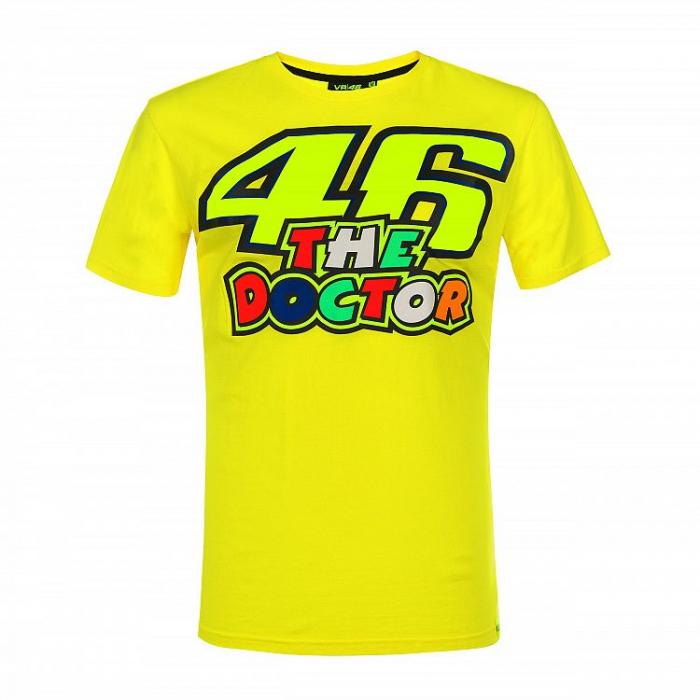 Koszulka VR46 Valentino Rossi THE DOCTOR 46 żółta