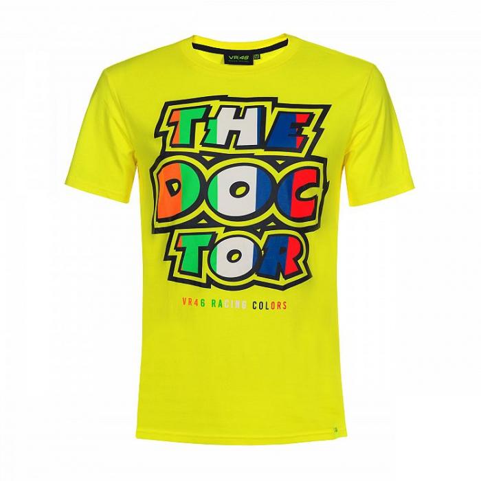 Koszulka VR46 Valentino Rossi THE DOCTOR żółta