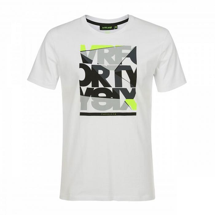Koszulka VR46 Valentino Rossi VRFORTYSIX biała
