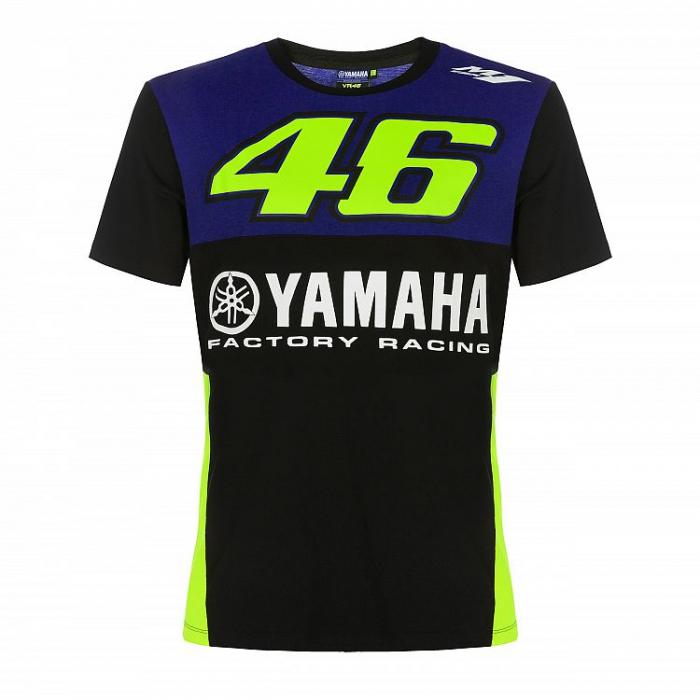 Koszulka VR46 Valentino Rossi Yamaha niebieska