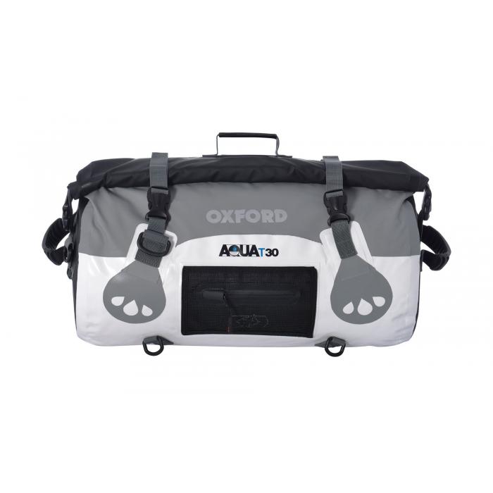 Torba wodoodporna Oxford Aqua30 Roll Bag biało-szara