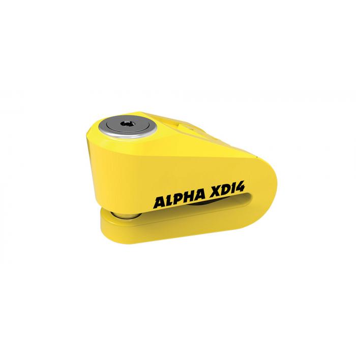 Blokada hamulca tarczowego Oxford Alpha XD14 żółta