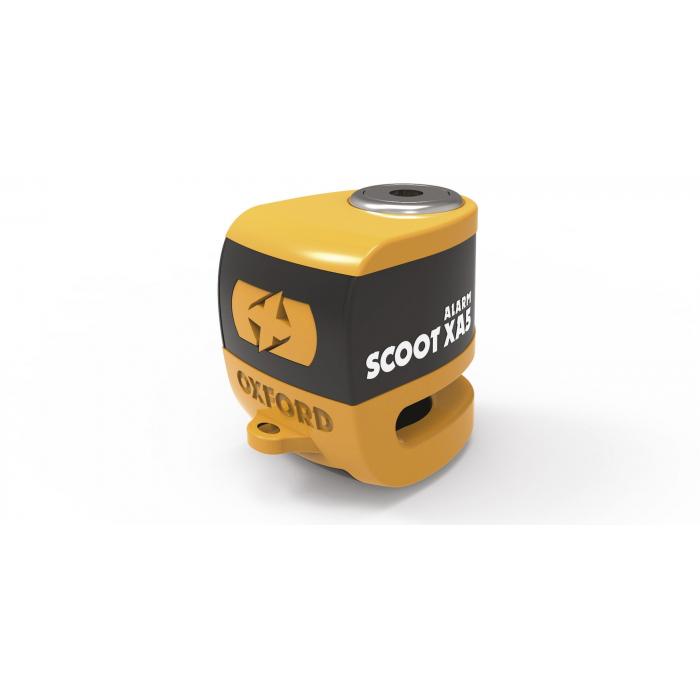 Blokada hamulca tarczowego Oxford Scoot XA5 pomarańczowo-czarna