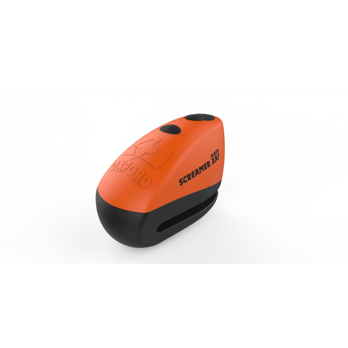 Blokada hamulca tarczowego Oxford Screamer XA7 pomarańczowo-czarna